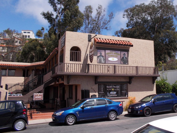 The Sheriff's Museum on San Diego Avenue. I've yet to visit this place! So much still to do!