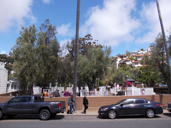 The El Campo Santo Cemetery in Old Town is where many of San Diego's earliest residents are buried.