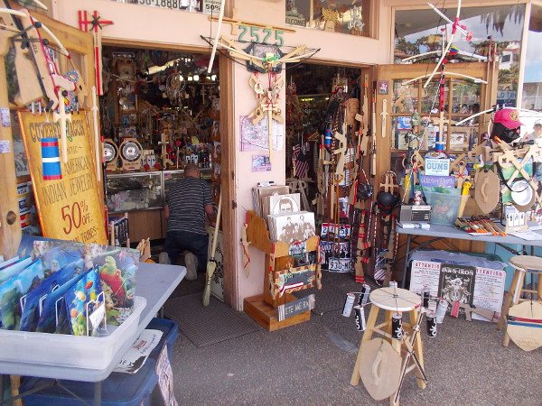 This shop contains all sorts of Old West-themed stuff for sale. There's so much on display, it boggles the mind!