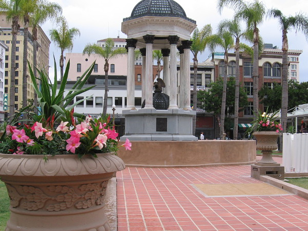 The new Horton Plaza Park in downtown San Diego makes history in 2016, just over a century after this important civic gathering place originated.