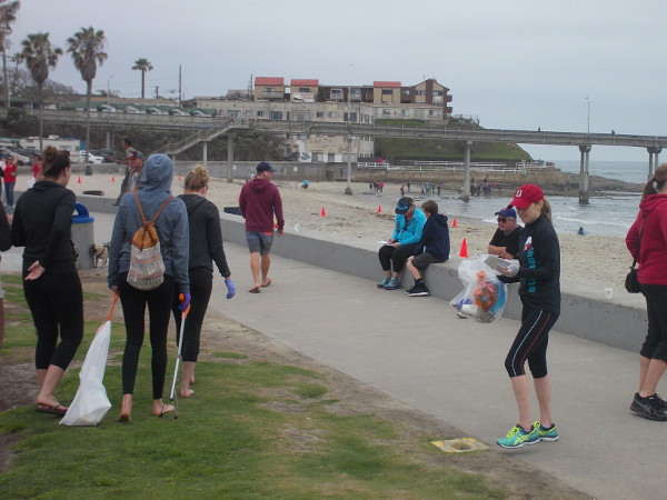 Many residents of Ocean Beach help to keep their community clean, collecting trash that damages the coastal environment.