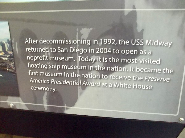 After decommissioning in 1992, the USS Midway returned to San Diego in 2004 to open as a nonprofit museum. It is now the most visited floating ship museum in the nation.