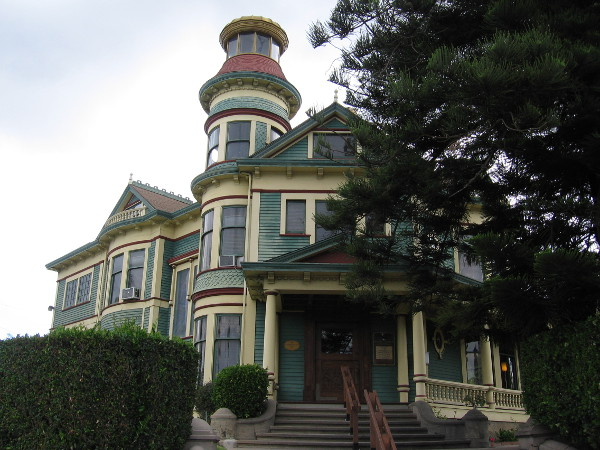 The 1896 Quartermass-Wilde House is a San Diego Historic Landmark. This elegant Victorian is an outstanding example of Queen Anne style architecture.
