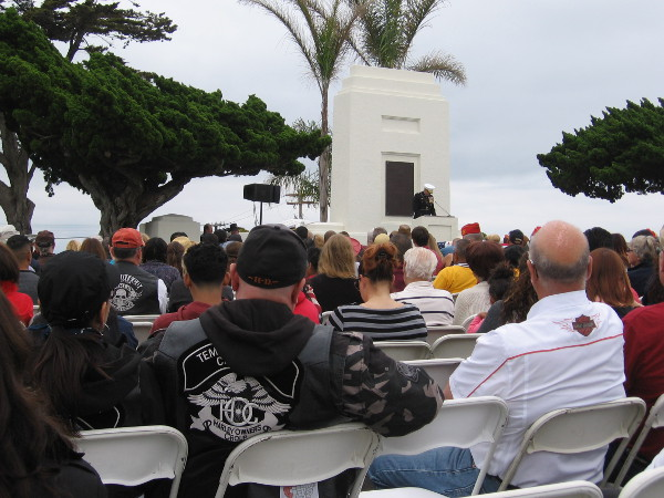 An address about different forms of love during Memorial Day. The moving speech was given by Major General O'Donohue of the 1st Marine Division in Camp Pendleton.