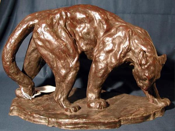 Wild Cat, Arthur Putnam, 1908. Photo courtesy San Diego Museum of Art.