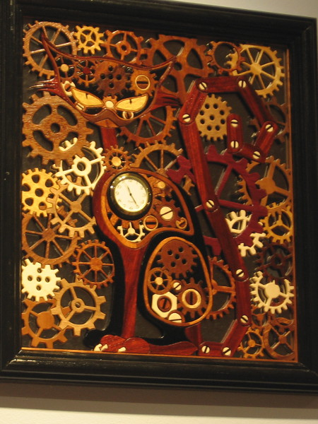 Gears aplenty. Steampunk Cat, Various, Stephen Knight.