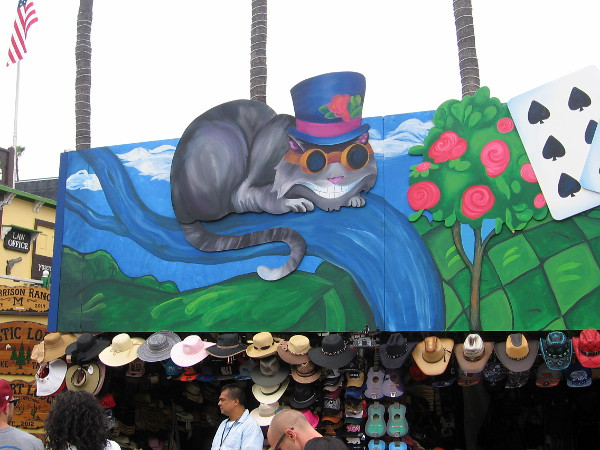 Even the Cheshire Cat has gone steampunk!