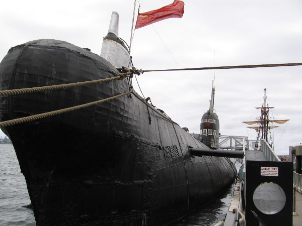 Today, the Maritime Museum of San Diego's B-39 Foxtrot-class Soviet submarine allows visitors to see what sub warfare was like during the Cold War, and to relive the crisis.
