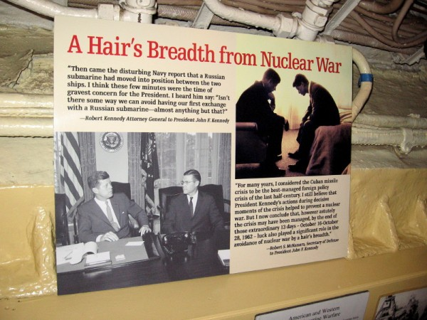 A Hair's Breadth from Nuclear War. President John F. Kennedy dealt with an extremely difficult crisis. Common sense, decisive action--and possibly some luck--helped the world avoid catastrophe.