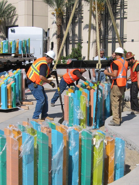 San Diego continues to grow more interesting and beautiful as public art is installed near the waterfront!