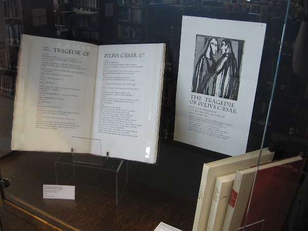 Rare book illustrations are included in the fine museum quality exhibit.