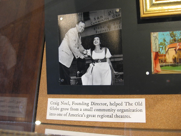Craig Noel, Founding Director, helped the Old Globe grow from a small community organization into one of America's great regional theatres.