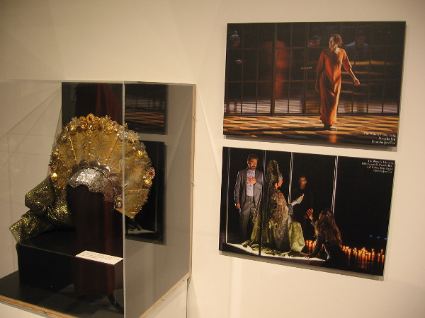 Headpiece and photos from Old Globe production of The Winter's Tale.