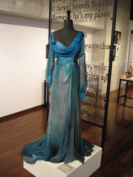 Costume designed by David Israel Reynoso for Viola, in Shakespeare's Twelfth Night.
