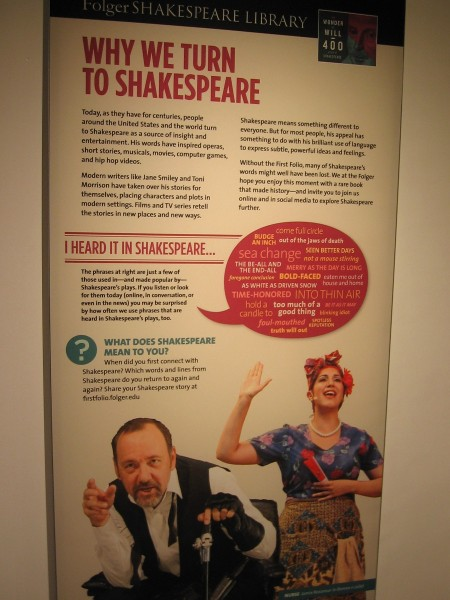 Why we turn to Shakespeare. For most people, his appeal has something to do with his brilliant use of language to express subtle, powerful ideas and feelings.