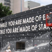 New mural in San Diego extols humility, nobility.