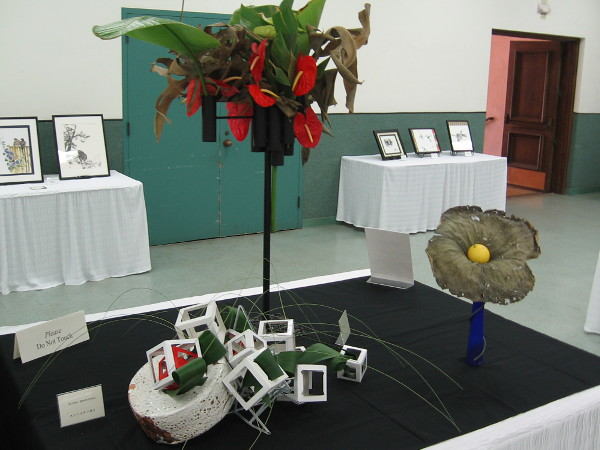 Some unusual but beautiful sculptures were part of this unique, once-a-year show.