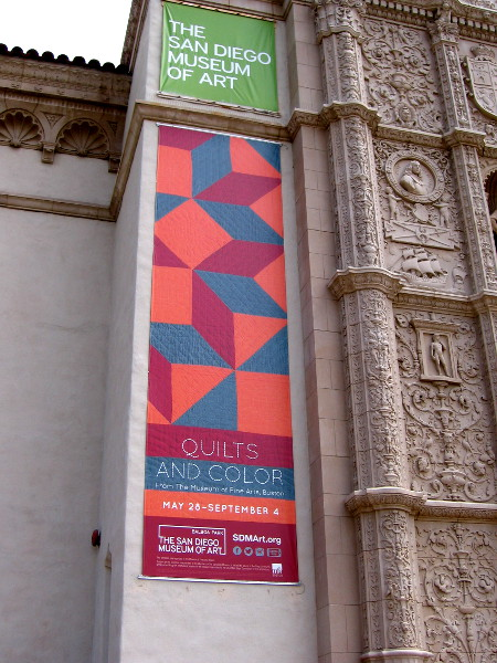 Quilts and Color from the Museum of Fine Arts, Boston. This special exhibition can be enjoyed at the San Diego Museum of Art in Balboa Park.