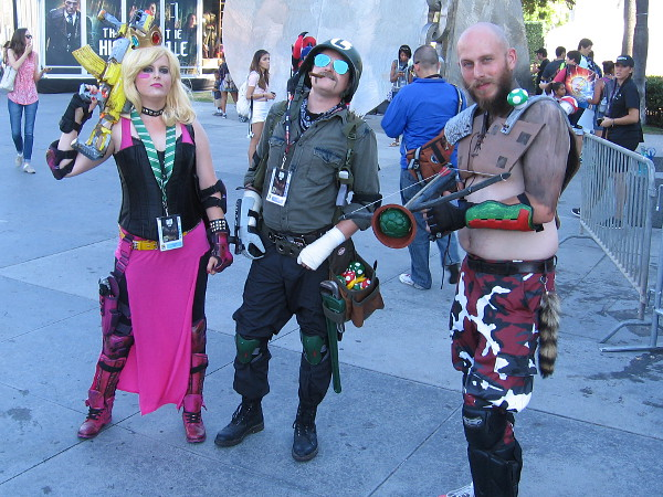 Post-Apocalyptic Super Mario Brothers cosplay at 2016 San Diego Comic-Con.