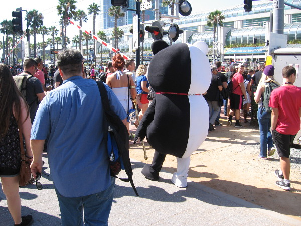 Fun and often unusual cosplay can be seen everywhere during San Diego Comic-Con. This insanely popular, internationally famous event is quite a spectacle!