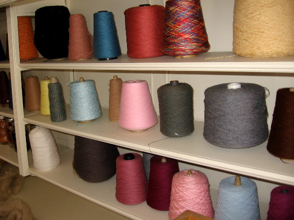 All sorts of very colorful threads!