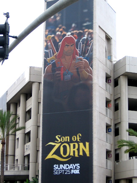 The Son of Zorn, an imaginative combination of animation and live action, will premiere on September 25 on FOX.