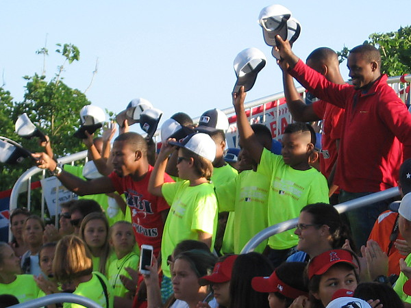 Each of the participating youth teams were recognized.