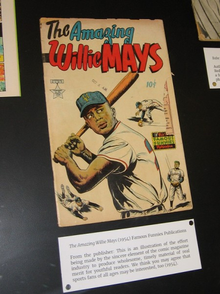 The Amazing Willie Mays, 1954. Famous Funnies Publications.