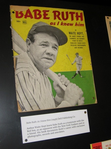 Why was babe ruth called the great bambino-4228