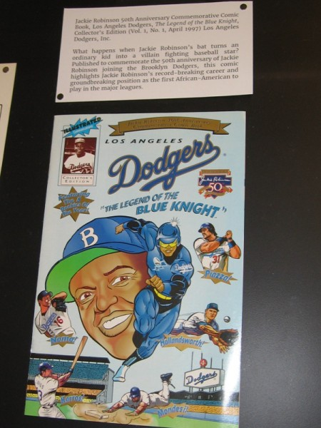 The Legend of the Blue Knight, 1997. Jackie Robinson's 50th Anniversary commemorative comic book.