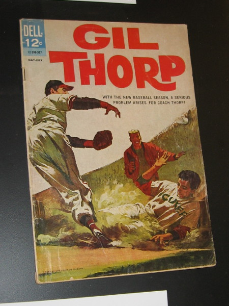 Gil Thorp, 1963. Dell Publishing.