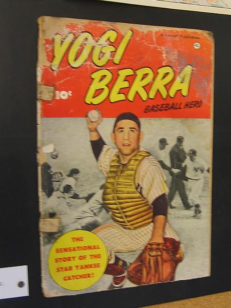Yogi Berra Baseball Hero, 1951. Fawcett Publications.