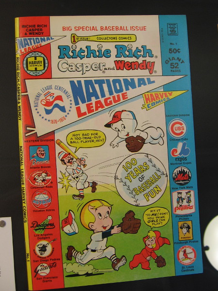 Richie Rich, Casper and Wendy--National League, 1976. Harvey Publications.