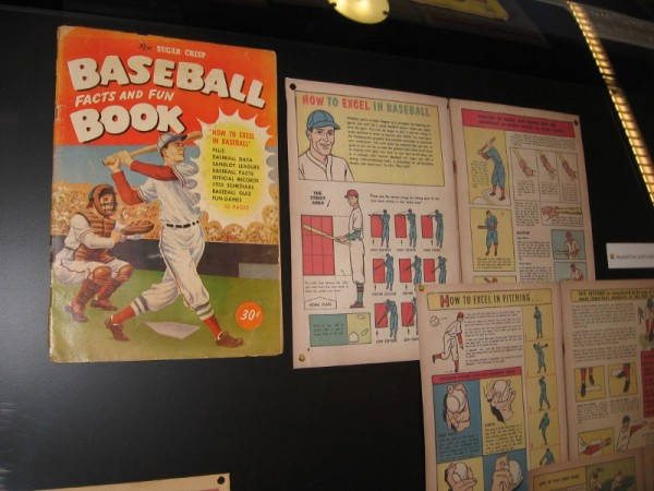 Baseball Facts and Fun Book, 1956. Post Sugar Crisp.