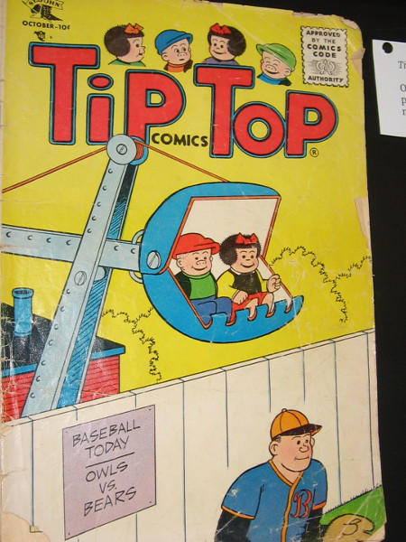 A real classic. Tip Top Comics, 1955. United Features.
