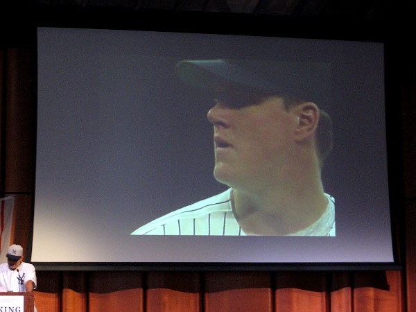 Jim Abbott was born in 1967 without a right hand. That didn't stop him from becoming an accomplished professional baseball pitcher. He spent 10 years in the major leagues.