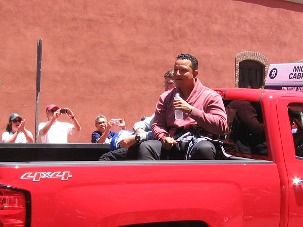 And here's Miguel Cabrera of the Detroit Tigers.