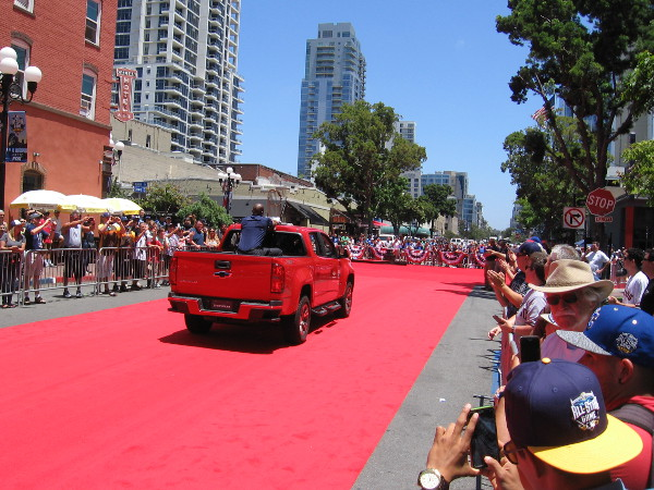 The Red Carpet Parade for MLB's 2016 All-Star Game in San Diego is over. Now all that's left to be done is play the game.