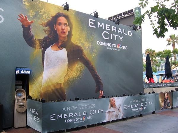 Emerald City coming to NBC. A new Oz rises.