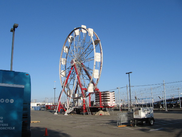 At least somebody got this Ferris wheel up in time!