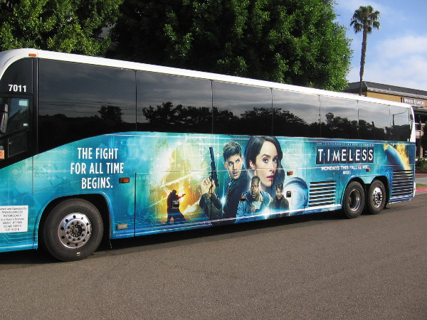 Even the Comic-Con hotel buses seem ready! (I got this photo in Mission Valley walking to work.)