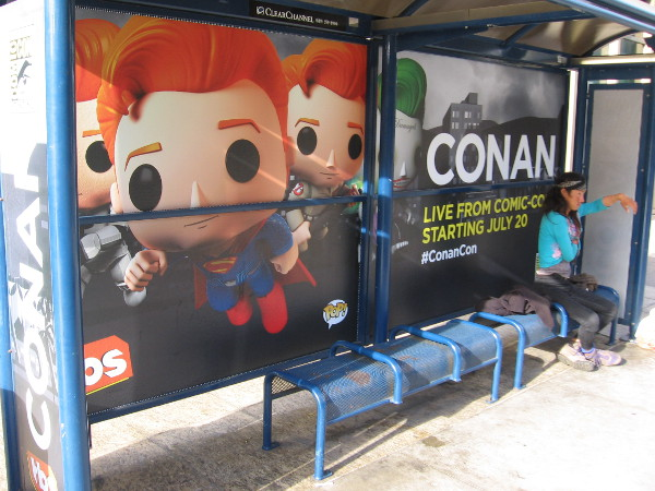 Conan O'Brien's talk show is in San Diego for Comic-Con again. It starts tonight!