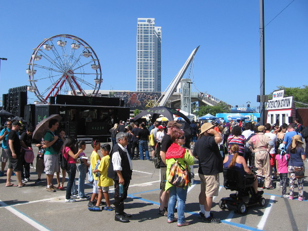 The Interactive Zone at Petco Park was ready to rock on Thursday and packed with Comic-Con fans!