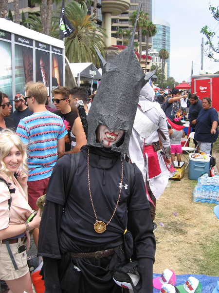 This cosplayer seemed a bit surprised that I recognized he was the Mouth of Sauron. I guess I've read and watched Lord of the Rings too many times.