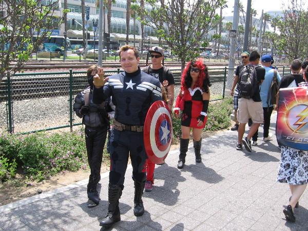 Hey, Cap! What's up?