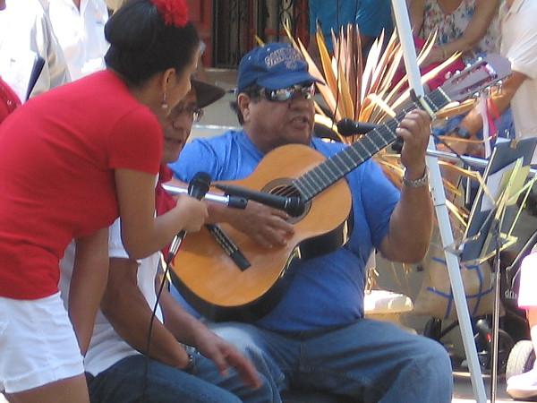 After a few speeches, the lawn program featured stirring Peruvian music.