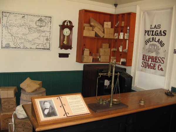 Visitors to the McCoy House Museum can step into a replica stage stop and see what life was like in Old Town during San Diego's early history.