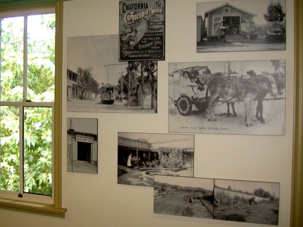 Photographs in the McCoy House Museum recall Old Town San Diego's colorful past.
