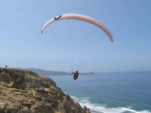 A photo that provides a hint of why the Torrey Pines Gliderport is such a special place.