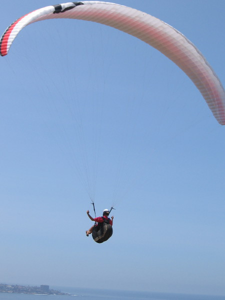 A fantastic ride through the sky!